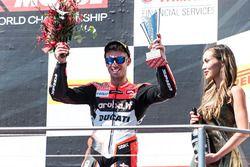 Podium: third place Marco Melandri, Ducati Team