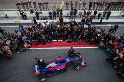 Daniil Kvyat, Scuderia Toro Rosso y Carlos Sainz Jr., Scuderia Toro Rosso con el Scuderia Toro Rosso