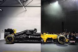 Renault RS17 vs Renault RS16