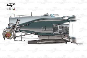 McLaren MP4-17D 2003 chassis detail