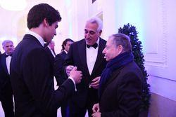 Lance Stroll, Lawrence Stroll, FIA-president Jean Todt