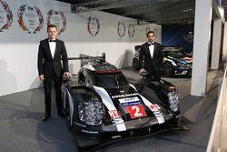 WEC-kampioenen Marc Lieb, Neel Jani, Porsche Team