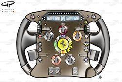 Ferrari F10 steering wheel (Alonso)