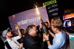Nico Rosberg, Mercedes AMG F1 fête son titre de Champion du monde