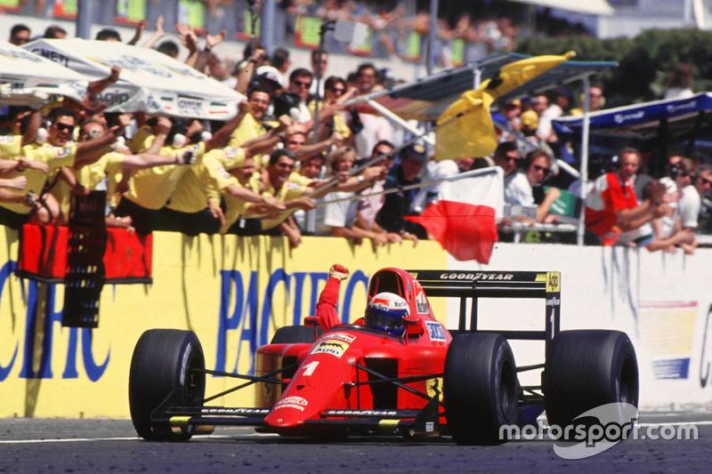 1990 Alain Prost, Ferrari