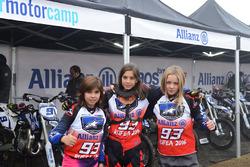 Junior Motor Camp participants