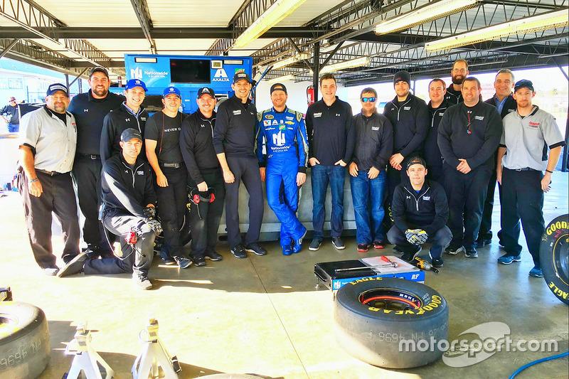 Dale Earnhardt Jr., Hendrick Motorsports Chevrolet y su equipo