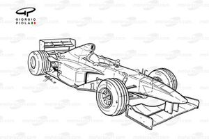 Williams FW20 1998 overview