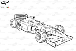 Vue d'ensemble de la Williams FW20