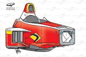 Схема шасси Williams FW21 1999 года