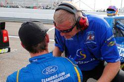 Buddy Sisco and Chase Briscoe, Brad Keselowski Racing Ford