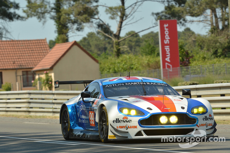 9. GTE-Am: #99 Beechdean AMR, Aston Martin Vantage GTE