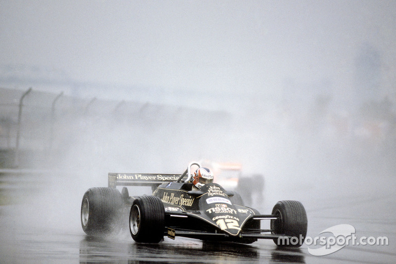 1981 - Lotus 87-Ford Cosworth