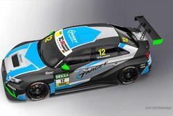 Livrea dell'Audi RS 3 LMS TCR di Simon Larsson