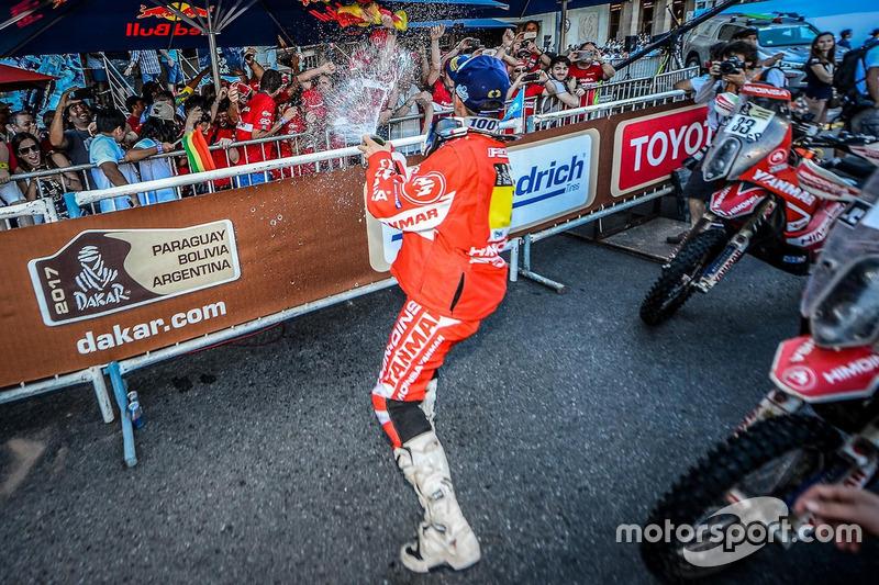 #8 Himoinsa Racing Team KTM: Gerard Farrés celebra