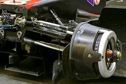 #8 Audi Sport Team Joest Audi R18 front brake detail