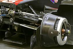 Detail vordere Bremse, #8 Audi Sport Team Joest Audi R18