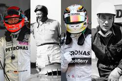 Les pilotes de Mercedes en F1