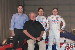 Larry Foyt, A.J. Foyt, Carlos Munoz and Conor Daly