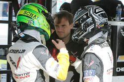 Mike Rockenfeller, Antonio Garcia, Jan Magnussen, Corvette Racing