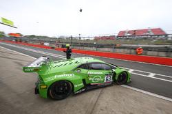 #63 GRT Grasser Racing Team Lamborghini Huracan GT3: Christian Engelhart, Mirko Bortolotti