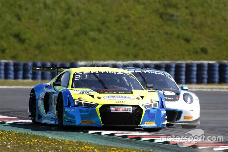 #44 Twin Busch Motorsport, Audi R8 LMS: Marc Busch, Dennis Busch