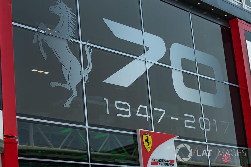 Ferrari branding