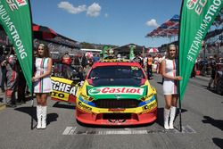Hot Castrol girls for Chaz Mostert, Rod Nash Racing Ford