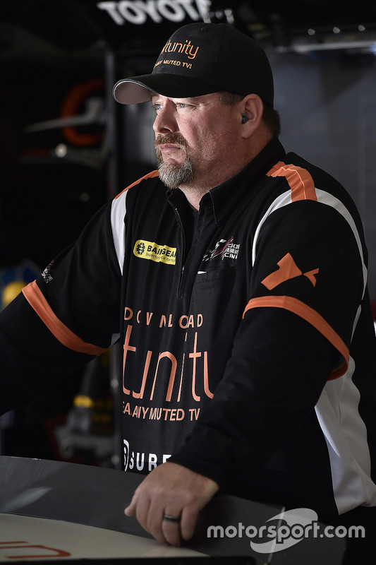 Crewmitglied von Matt Tifft, Joe Gibbs Racing, Toyota
