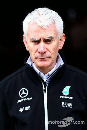 Geoff Willis, Mercedes AMG F1 W08, director de tecnología