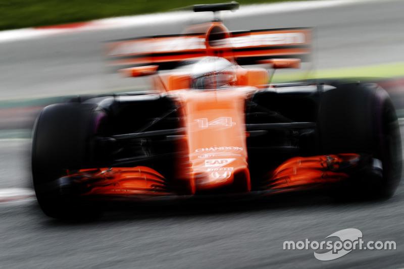 Miércoles: Fernando Alonso, McLaren MCL32