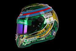 Le casque de Felipe Massa, Williams