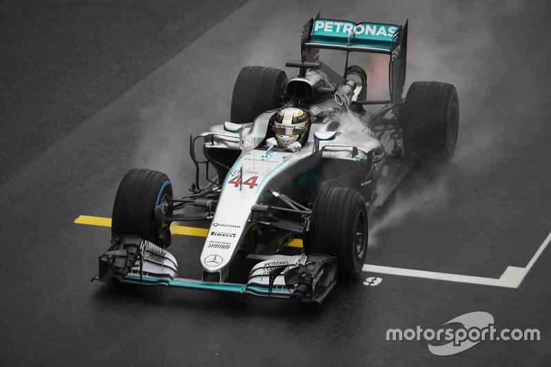 Ganador,Lewis Hamilton, Mercedes AMG F1 W07 Hybrid