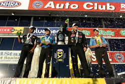 Campeones 2016: Antron Brown, Ron Capps, Jason Line, Jerry Savoie