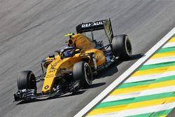 Jolyon Palmer, Renault Sport F1 Team RS16, mit Cockpitschutz Halo