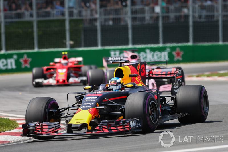 Ricciardo voltou a se destacar no GP do Canadá, quando sobreviveu a uma corrida movimentada para novamente ocupar o último degrau do pódio.