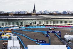 Mitch Evans, Jaguar Racing, Nick Heidfeld, Mahindra Racing, Nicolas Prost, Renault e.Dams