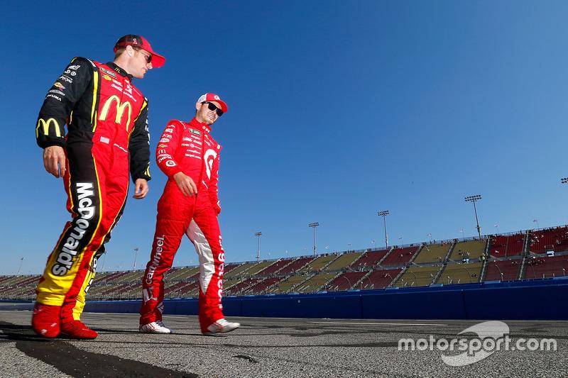 Jamie McMurray, Chip Ganassi Racing, Chevrolet; Kyle Larson, Chip Ganassi Racing, Chevrolet