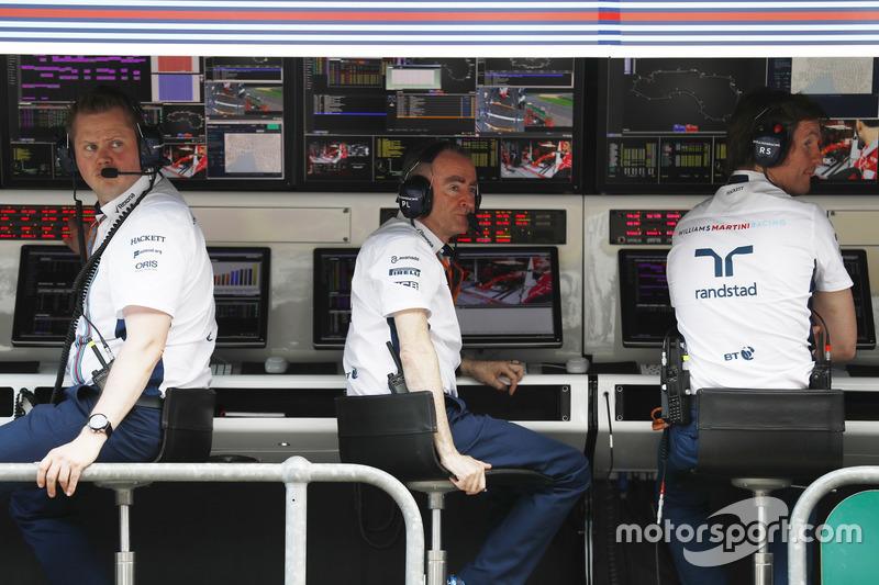 Paddy Lowe, Williams Formula 1, y Rob Smedley
