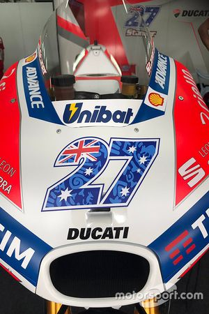 The bike of Casey Stoner, Ducati Team