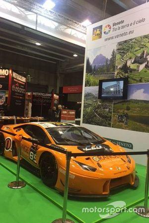 La Lamborghini Huracan dell'Orange1 Team Lazarus al Motor Bike Expo