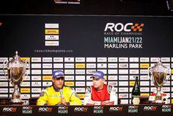 Press Conference: Juan Pablo Montoya and Tom Kristensen
