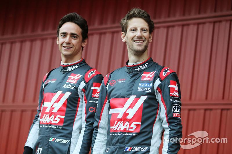 Pilotos 2016: Esteban Gutiérrez y Romain Grosjean