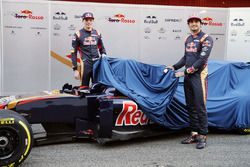 Max Verstappen, Scuderia Toro Rosso and Carlos Sainz Jr., Scuderia Toro Rosso unveil the livery for the Scuderia Toro Rosso STR11