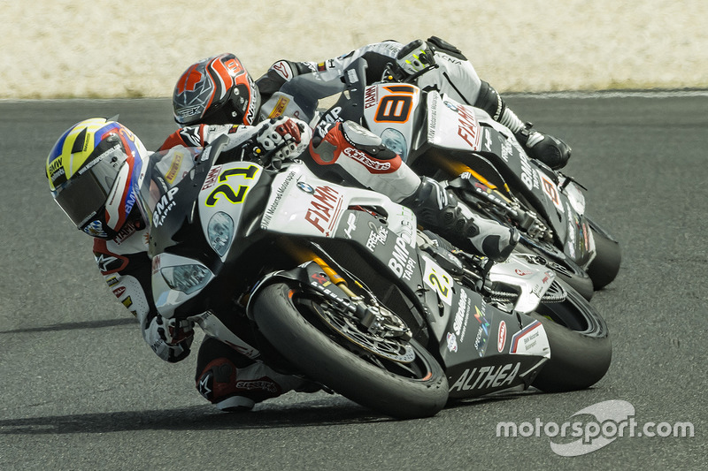 Markus Reiterberger, Althea BMW Team et Jordi Torres, Althea BMW Team