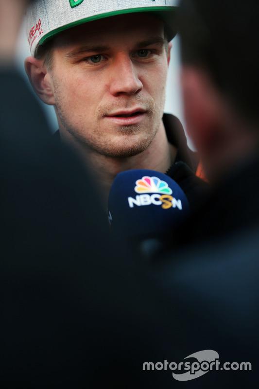 Nico Hulkenberg, Sahara Force India F1 met de media