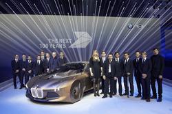 BMW VISION NEXT 100, BMW Motorsport, Alle BMW-Werksfahrer, Alessandro Zanardi, Jens Marquardt, Boris