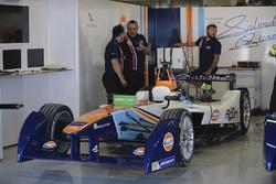 Car of Salvador Duran, Team Aguri