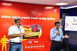 Vicky Chandhok and Ramki Ramakrishnan, Vice President Tata Motors Commercial Vehicles