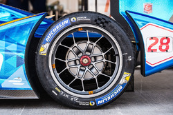 A Set Of The New Tyres From Michelin Which Were Tested Privately By French Manufacturer Earlier This Year Are Being Supplied To Teams For Pre Season